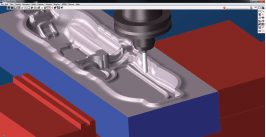 Simulating the toolpaths is a critical part of GibbsCAM software