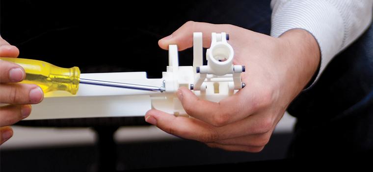 Prototypes explorables robustes de la ProJet MJP 3600 de 3D Systems