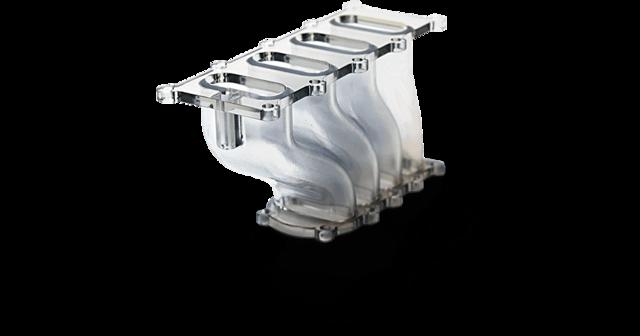 Prototype d'échappement imprimé en 3D SLA VisiJet SL HiTemp