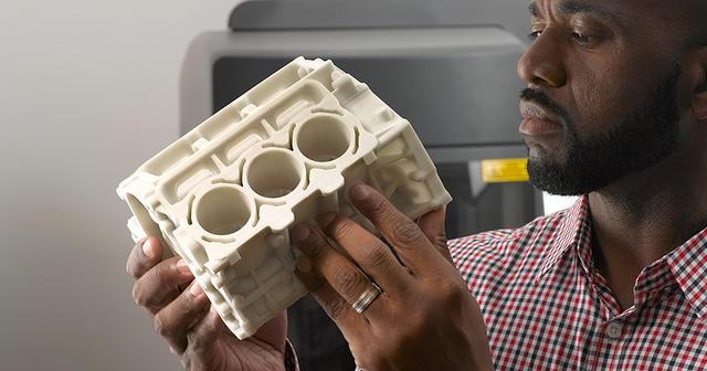 On Demand Manufacturing (Fabrication à la demande): Maquette