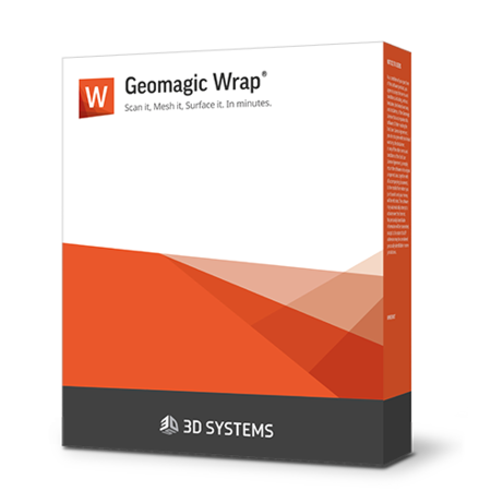 Geomagic Wrap 3D scanning software